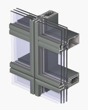 Reynaers CW 65-EF/HI Curtain Walling