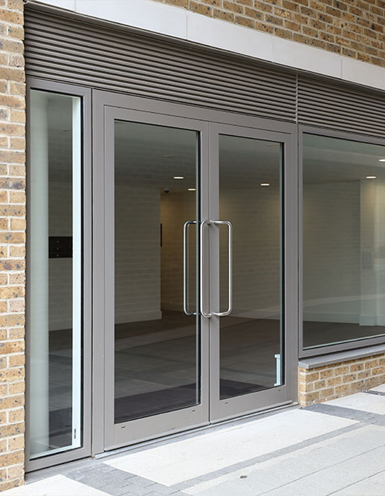 Commercial Aluminium Door Supplier