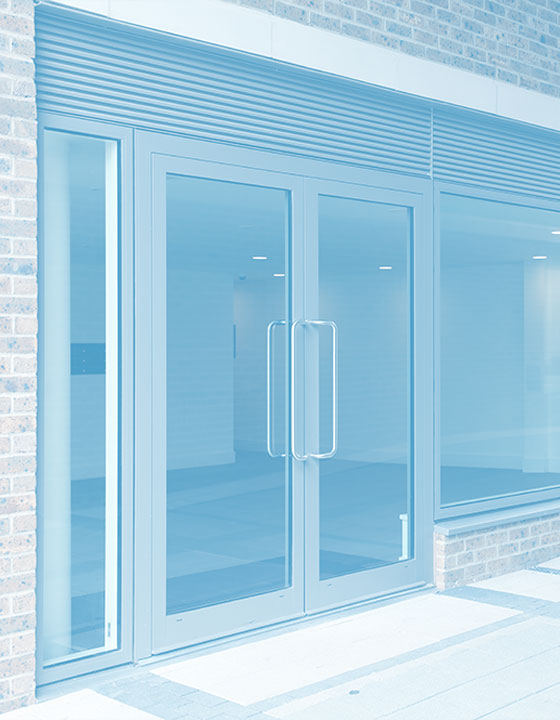 Aluminium Doors for Commercial Projects
